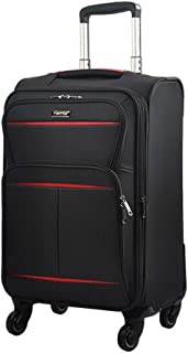 Luggage, Business Unisex Trolley Case, Black Large Capacity Travel Equipment (Size : 22 Inches)
