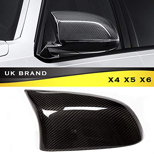 JetStyle Compatible/Replacement for Carbon Fibre Mirror Replacement for BMW F15 F16 F26 X4 X5 X6 Series M Style