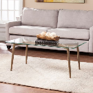Daly Coffee Table with Glass Top | Pier 1