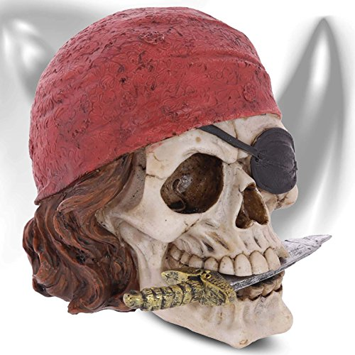 mtb more energy Cráneo Caribbean Pirate cráneo Decorativo de Pirata del Caribe