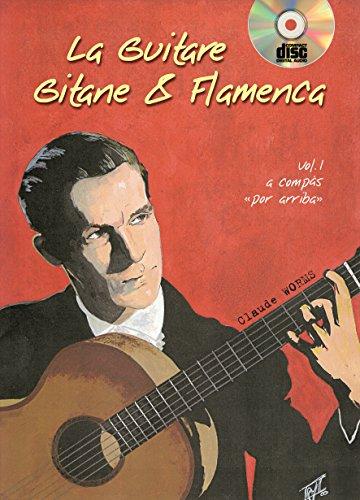 Worms Claude La Guitare Gitane & Flamenca Volume 1 Gtr Tab Book/Cd Fre