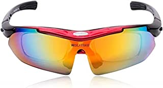 Mens Sunglasses Sports Cycling Sunglasses Color Changing Polarized Sunglasses UV Protection for Cycling Climbing Sports Dr...