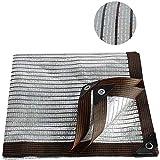 RXBFD Sonnensegel 75% Schattennetz Aluminiumfolie,Sonnenschutznetz,Atmungsaktiv...