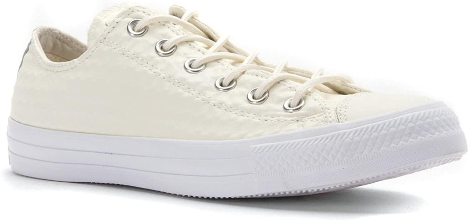 Converse Chuck Taylor Ox Craft Leather Casual Men's shoes Size White