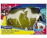 Breyer Horses Paint Your Own Horse - Quarter Horse & Saddlebred Paint & Play | 2 Horse Set | Model #4260