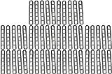 BITS4REASONS Escaleras de goma para toldo de caravana (50 unidades)