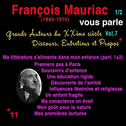 Couverture de François Mauriac vous parle 1