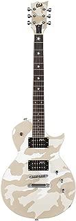 ESP Artist Series LWA200WHC Solid-Body Electric Guitar, White Camo