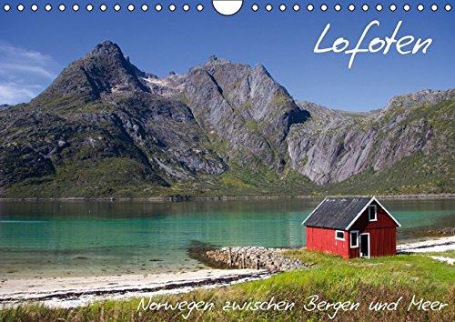 Lofoten - Norwegen zwischen Bergen und Meer (Wandkalender 2016 DIN A4 quer): Lofoten - Küsten, Berge, Blicke, Traditionen (Monatskalender, 14 Seiten) (CALVENDO Orte)