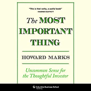The Most Important Thing cover art