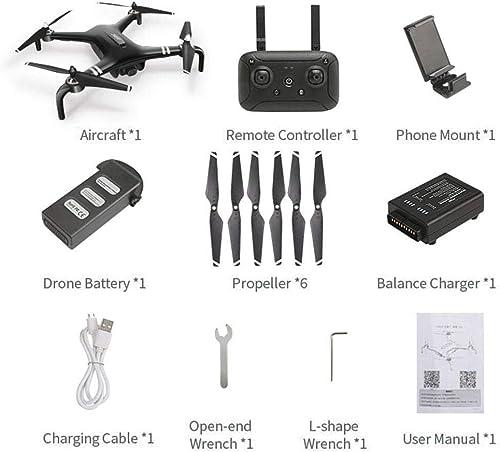 Likeitwell Quadcopter X7 5G WIFI GPS FPV avec mode d'altitude HD Drone RC en temps réel
