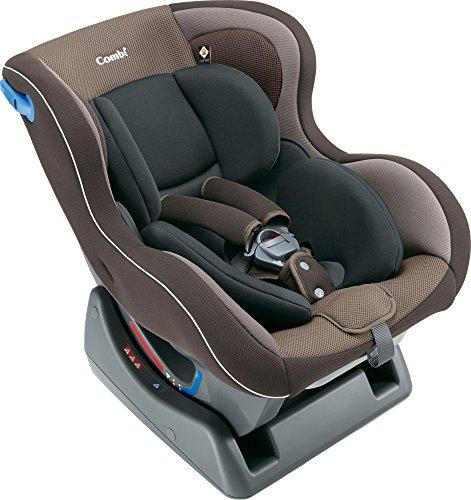 コンビ シートベルト固定 チャイルドシート ウィゴー サイドプロテクション エッグショック LG ブラウン 0...