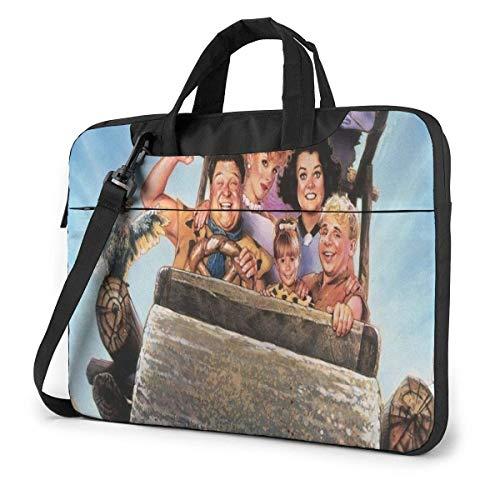 Hdadwy Flintstones Laptop Sleeve Laptop Bag Tablet Briefcase Ultraportable Protective Handbag Oxford Cloth-for MacBook Pro/MacBook Air/Notebook Computer 13inch