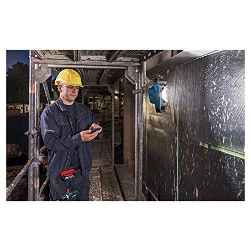 Bosch Professional 18V System Akku LED-Baustellenlampe GLI 18V-2200 C (max. Helligkeit 2.200 Lumen, Connect Ready, ohne Akkus und Ladegerät, im Karton)