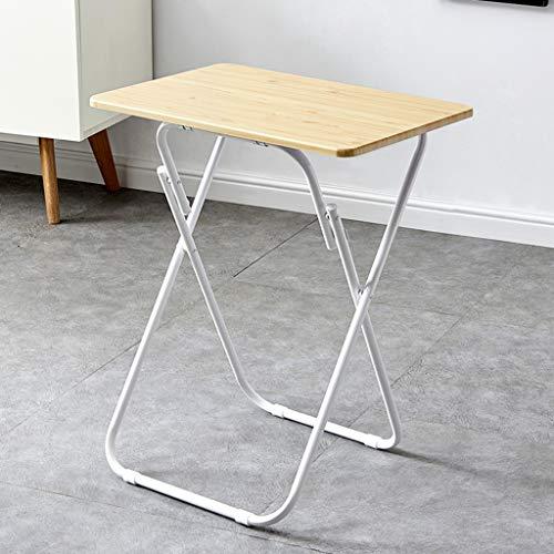 Folding table Tragbarer Haushaltstisch, 60x41cm Schreibtisch, Computertisch, geeignet für Camping, Strand, Garten, Grill, Party