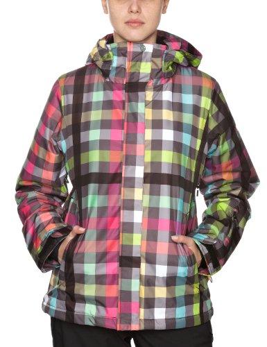 Quiksilver Roxy Jet Zipped - Chaqueta de esquí para Mujer, tamaño XL, Multicolor