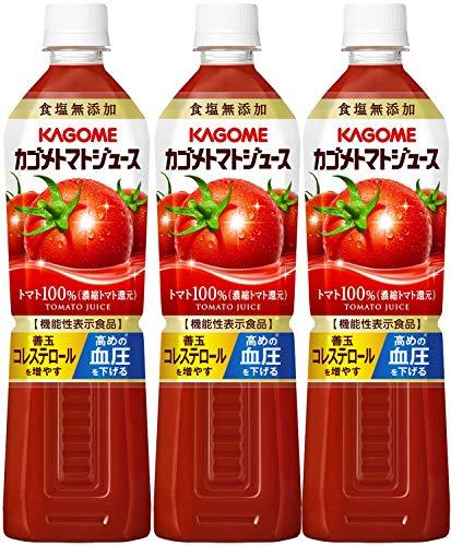 カゴメ カゴメトマトジュース 食塩無添加 ペット720ml