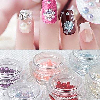 MZP Manucure Dé oration strass Perles Maquillage cosmétique Nail Art Design