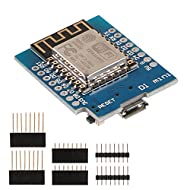 Makerfocus D1 Mini NodeMcu 4M Bytes Lua WiFi Development Board Base on ESP8266 ESP-12F N Compatible NodeMcu Arduino