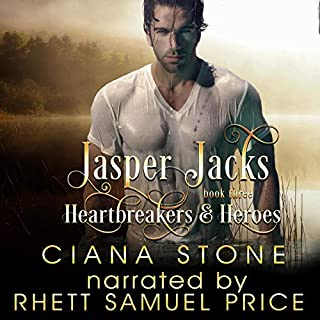 Jasper Jacks      Heartbreakers & Heroes, Book 3              Written by:                                                                                                                                 Ciana Stone                               Narrated by:                                                                                                                                 Rhett Samuel Price                      Length: 5 hrs and 29 mins     Not rated yet     Overall 0.0