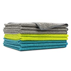 【Ultra-soft, Scratch-free, Lint, and Streak-free】--Super soft & non-abrasive microfiber cloths prevent scratching surfaces, paints, coats or other surfaces. These cloths can be used to clean all surfaces including stainless steel appliances. 【Highly ...