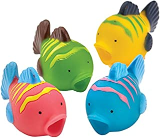 amscan 9902022 Fish Water Squirters Party Favor-4 Pcs