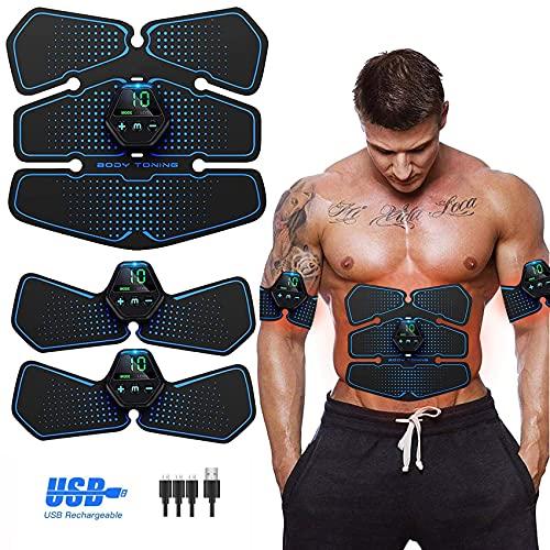 Electroestimulador Muscular, Abdominales...