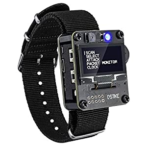 AURSINC WiFi Deauther Wristband ESP8266 Development Board | Wearable | OLED | Attack/Control/Test Tool | LOT for Devkit Nodemcu