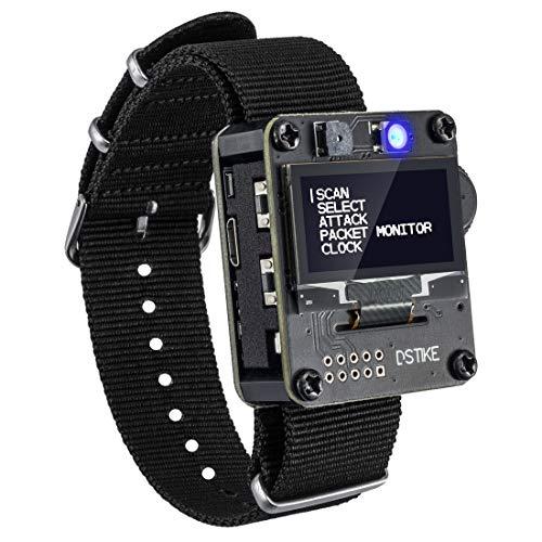 AURSINC WiFi Deauther Wristband ESP8266 Development Board   Wearable   OLED   Attack/Control/Test Tool   LOT for Devkit Nodemcu
