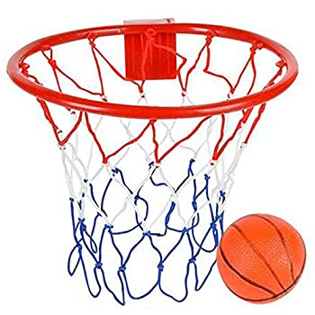 ArtCreativity Over The Door Basketball Hoop Game - Includes 1 Mini Basketball and 1 Net Hoop Indoor Basketball Set for Home Office Bedroom Cool Birthday Gift for Boys and Girls