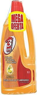 3 en 1 Limpiador Líquido de Pisos Laminados, Cítrico, 1L, Paquete de 2