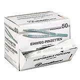 Einmal-Pinzetten - steril - 12,5 cm - 50 Stück