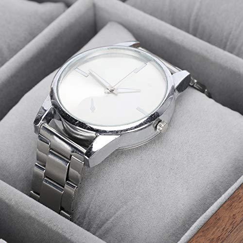 Pantalla de reloj, pantalla de caja de reloj, organizador de reloj de madera, almacenamiento de joyas, organizador de almacenamiento de madera para collar de reloj