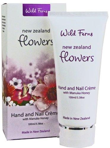 Wild Ferns 77833 Fleurs Crème Mains et Ongles Miel Manuka 100 ml