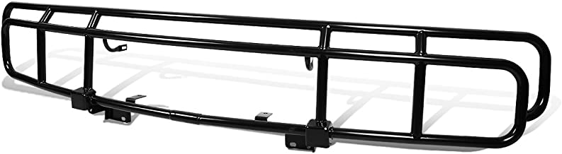 For Hummer H2 OE Style Front Bumper Brush Bull Bar Grille Guard (Black)