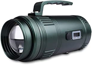 Night Fishing Light Four Light Source LED Glare Digital Zoom Searchlight Waterproof Flashlight 60W A