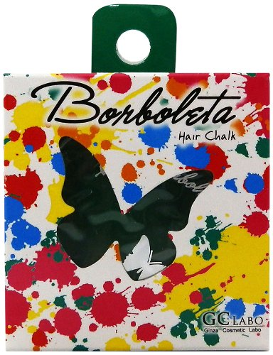 Borboleta Made In Japan 1 Day Hair Chalk Safe Quality - Green
