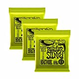 Ernie Ball 2221X 310–46Regular Slinky Saiten für E-Gitarre Saiten (Pack von 3)