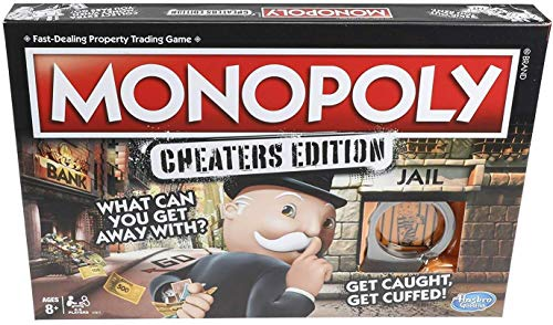 Monopoly Game: Cheaters...