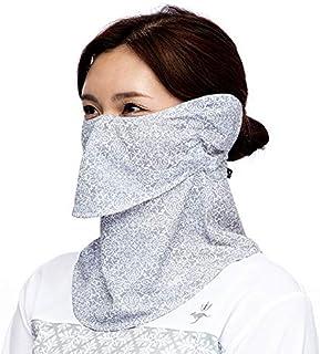 (シンプソン)Simpson 繰り返し 洗える 息苦しくない 日焼け防止マスク UVカットマスク 耳カバー付 フェイスマスク フェイスカバー STA-M04