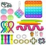 29pcs Fidget Toys Set, Pack de jouets sensoriels pas chers pour les enfants adultes, des jouets de détente de stress et des outils antianxiété