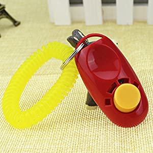 juyou Formation Clicker pour chien, rouge
