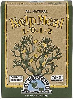Down to Earth 17813 Kelp Meal Fertilizer Mix, 1/2 lb