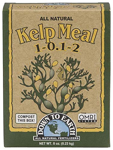 Down to Earth Organic Kelp Meal Fertilizer Mix 1-0.1-2, 0.5 lb