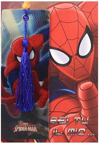 Hasbro Spider-Man Spiderman - Biglietto D'Auguri con Segnalibro Sei Tu Il Mio..
