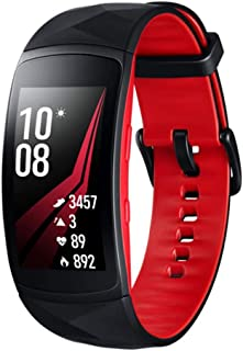 Samsung SM-R365NZRAXSA Smart Watch Gear Fit2 Pro Fitness Band (Australian Version), Red