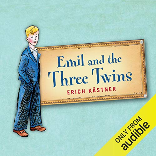 Emil and the Three Twins audiobook cover art