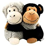 Warmies microwavable French Lavender Scented Monkey hugs, Multi, Medium