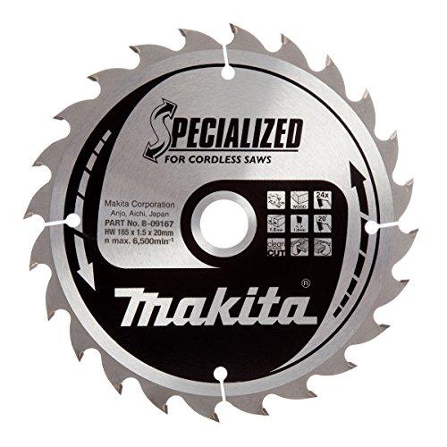 Makita B-09167 - Disco HM 165/20/24D Batería