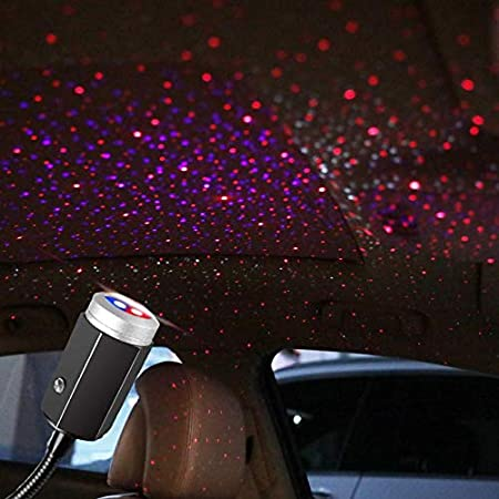Projector Atmosphere Light Nightlight Colorful Lamp USB Home Ornaments